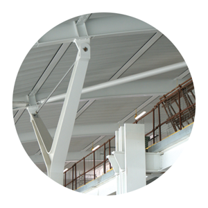 Industrial ceilings by Parker Ceilings